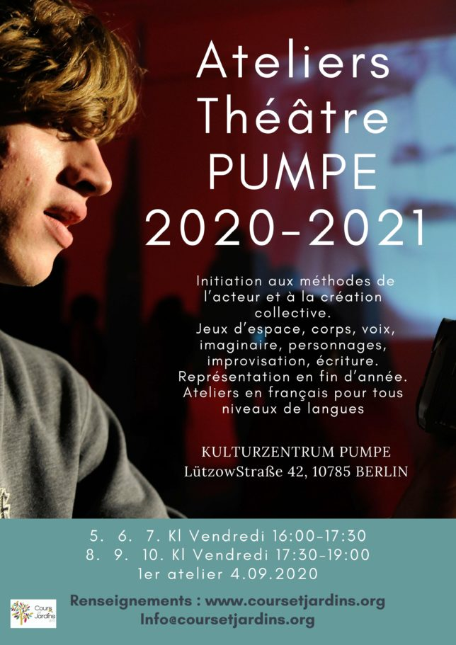 affiche PUMPE 2020-2021